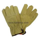 Pig Leather Mechanic Driver Glove