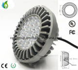 20W Osram LED Chip AR111 with G53 Base Aluminum Radiator and AC100-277V 90lm/W