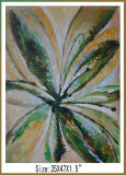 Newest Handmade Big Flower Paintings for Decor (LH-700643)