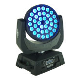 36*18W Rgbaw+UV 6 in 1 LED Zoom Moving Head