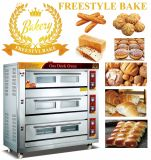 9 Trays Gas Deck Oven for Baking Bread and Cake (WQL-Y-3B)