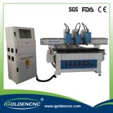 3 Heads CNC Router Machine Woodworking