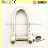 G-210 Us Galvanized Bolt Type D Shackle with Factory Price