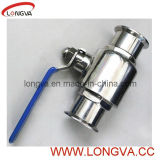 Straight Ball Valve in Stainless Steel Material