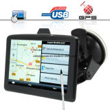 5 Inch Touchscreen GPS Navigator + MP3 MP4 Player - Slim Design & Portable
