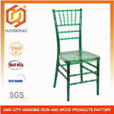 High Quality of Green Color Polycarbonate Resin Chiavari Chair
