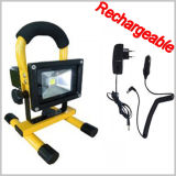 10W Rechargeable Camping Lamp Epistar LED Flood Light
