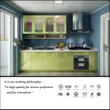 Green Colour High Glossy Kitchen Cabinet (ZH935)