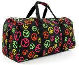 Leisure Colorful Printing Weekend Travel Duffel Bags