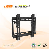 10 Degree Tilt Down LED LCD Flat Panel TV Wall Mount for Most 17′′-42′′ Screens (CT-PLB-E3011)