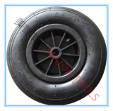 13 Inch Pneumatic Rubber Jockey Wheel 4.00-6