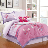 Lovely Kids Comforter and Curtain Set in Amazon/Ebay Small MOQ Bedding Set