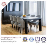 Minimalism Hotel Furniture for Dining Room with Fabric Chair (YB-G-15)