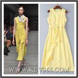 Fashion Women Sleeveless Dress for Party Design