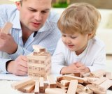 Wooden Beech Stacking Toy for Kids