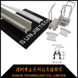 Recessed Mounted Aluminum LED Extrusion Profile for Ceiling