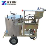 Hoe Melt Thermoplastic Road Line Marking Paint Machine