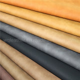 High Quality Synthetic PU Material Leather Fabric for Boot