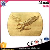 High Quality Low Price Gold Plated Metal Eagel Belt Buckle