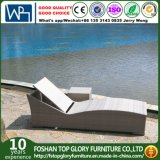 Modern Design Outdoor Rattan Furniture Sun Lounger (TG-JW96)