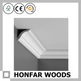 High-Quality Wooden Cornice Crown Moulding for Villa Ceiling