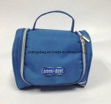 Microfiber Small Size Portable Makeup Bags, Toiletry Bag Blue Colour