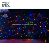 Stage Lighting Drape Rbg LED Star Curtain for Wedding Event