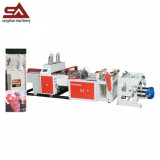 High Speed Double Lines Automatic Plastic Shopping Bag Making Machine