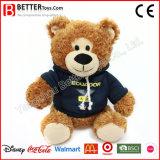 Promotion Stuffed Animal Plush Toy Bear Soft Teddy Bear in Hoodie