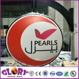 Large Size Wall Mounting Rotating LED Light Box Sign