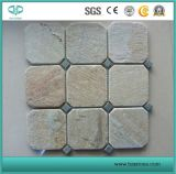 Cheap Grey/Black/Yellow/Chinese Rusty/Flagstone Meshed/Net Flagstone Slate Tile for Outdoor Flooring/Landscape