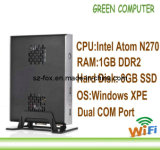 2013 Latest Mini PC with WiFi Intel Atom N270 1.6GHz 1GB RAM 8GB SSD Rdp 7.0 Windows XPE OS