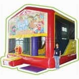 Cheer Amusement Children Indoor Inflatable Combo with Bouncer