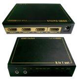 4 to 1 HDMI Switch/ Switcher with IR, 3D