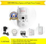 Multifunctional GSM MMS Alarm System With Night Vision Camera (YL--007M6E)
