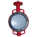 Butterfly Valve with Nylon Disc with Full EPDM Rubber Lined