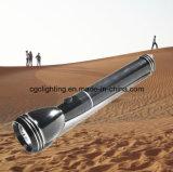 Rechargeable Aluminum LED Flashlight CC-002-3sc