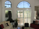 89mm Real Solid Wood Shutters