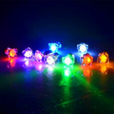 Multi-Color Flashing LED Earrings for Party