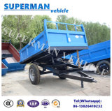 3t Agriculture Use Cargo Utility Dump Trailer/Drawbar Trailer/Tipping Trailer