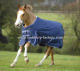 Horse Product Winter Blue Ripstop Turnout Horse Blanket (SMR5572)