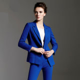 2016 Jewelry Blue, Slim Fit, Latest Ladies Suit Styles