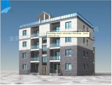 Steel Building Prefabricated Building Steel Structure (10-Storeys) (BR00010)