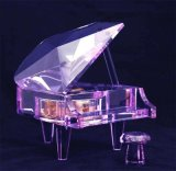 Crystal Piano Music Box Jd-Pn-001