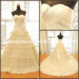Sweetheart Wedding Gown Tiered Bridal Wedding Dress N130107A