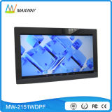 "Touch Screen WiFi Wireless 21.5"" Digital Photo Frame Mirror with Software"
