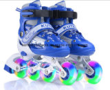 Custom Sneakers Wheel LED Roller Skates for Kids