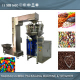 Sugar / Coffee Beans Multihead Weigher Automatic Filling Packing Machine