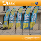 Lightwight and Portable Feather Flagpole for Event