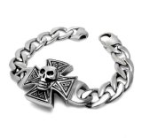 Men Bracelets 316L Stainless Steel Costume Jewelry Gothic Skull Design